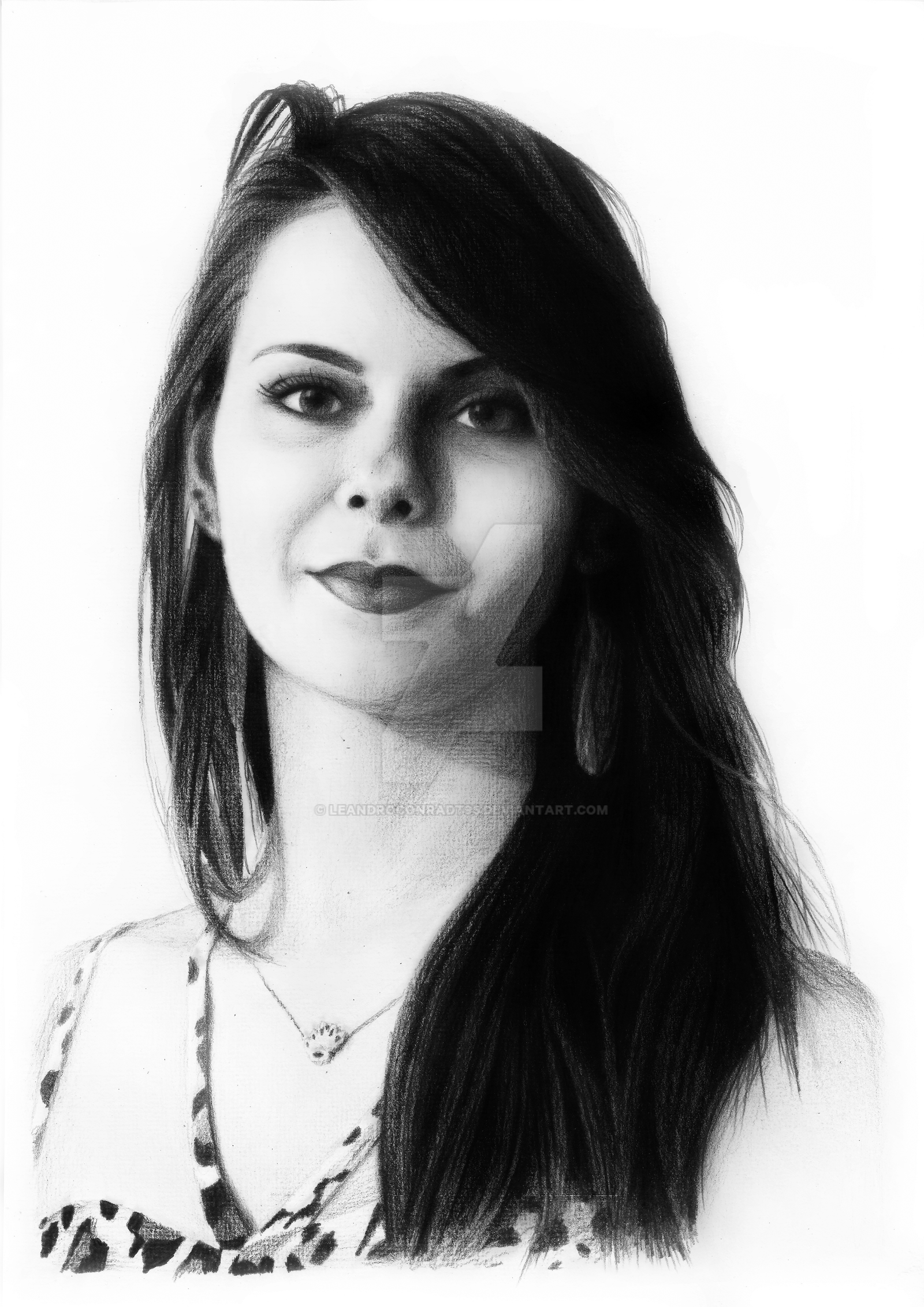 Eliane Drawing 02 by leandroconradt95