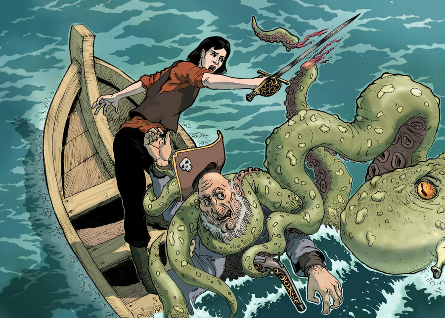 Fighting the Sea Monster
