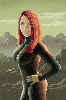Post Apocalyptic Redhead(Vector)