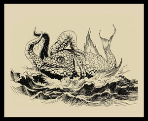 Battle of Sea Creatures