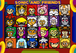 Sonic and Friends: Humanized Versions of them by Mllermanda
