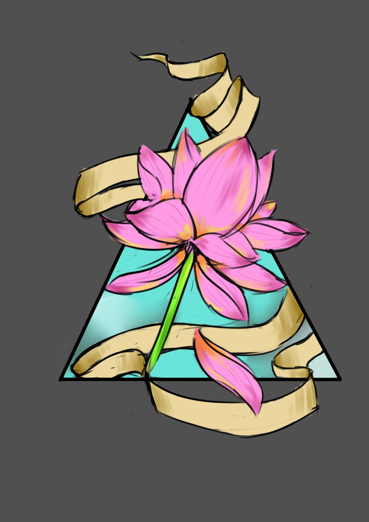 Lotus Flower Tattoo Sketch By Smurftrail On Deviantart