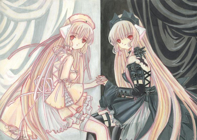 Good And Evil Anime Twins