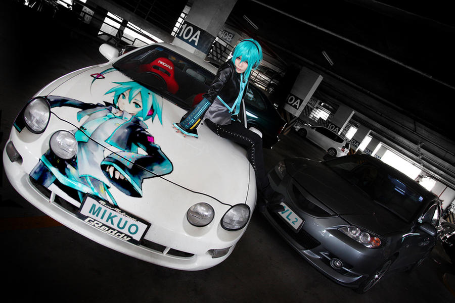 VOCALOID RACING Cosplay by yuegene