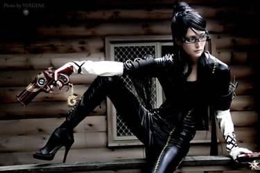 Bayonetta cosplay by Yuna by yuegene