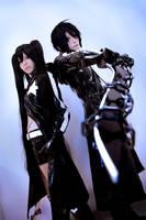 Cosplay : Black Rock Shooter by yuegene