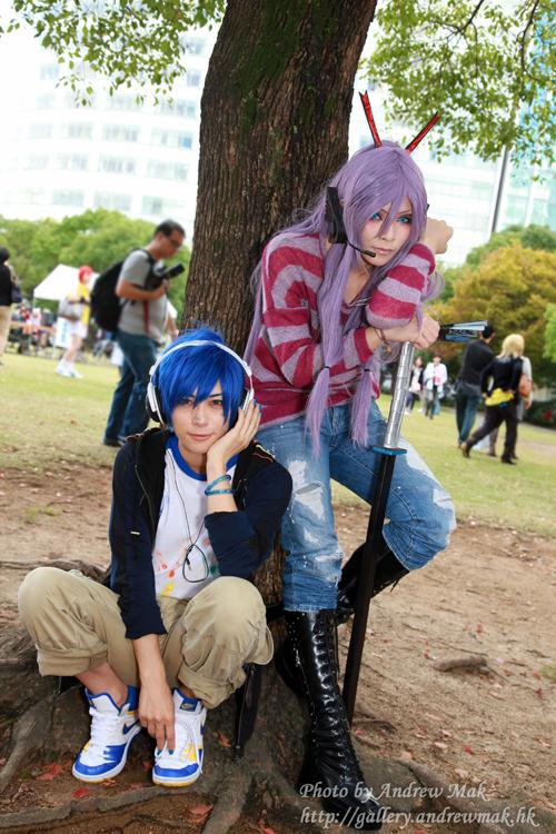 Vocaloid Cosplay : Kaito Gakupo by yuegene