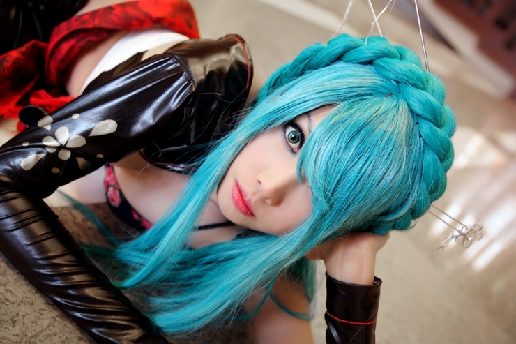 Vocaloid Hatsune Miku - Knife by yuegene