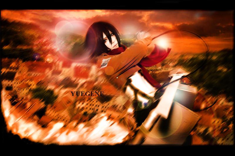 Mikasa Cosplay by yuegene