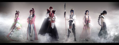 Magi The Labyrinth of Magic cosplay by yuegene