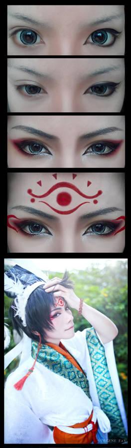 Cosplay Makeup Tutorial : Hakutaku