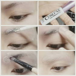 Cosplay makeup Tutorial : How to cover eyebrows