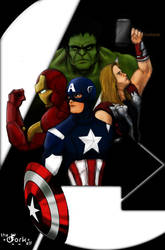 Movie Avengers Work in Progress by theDORKelf