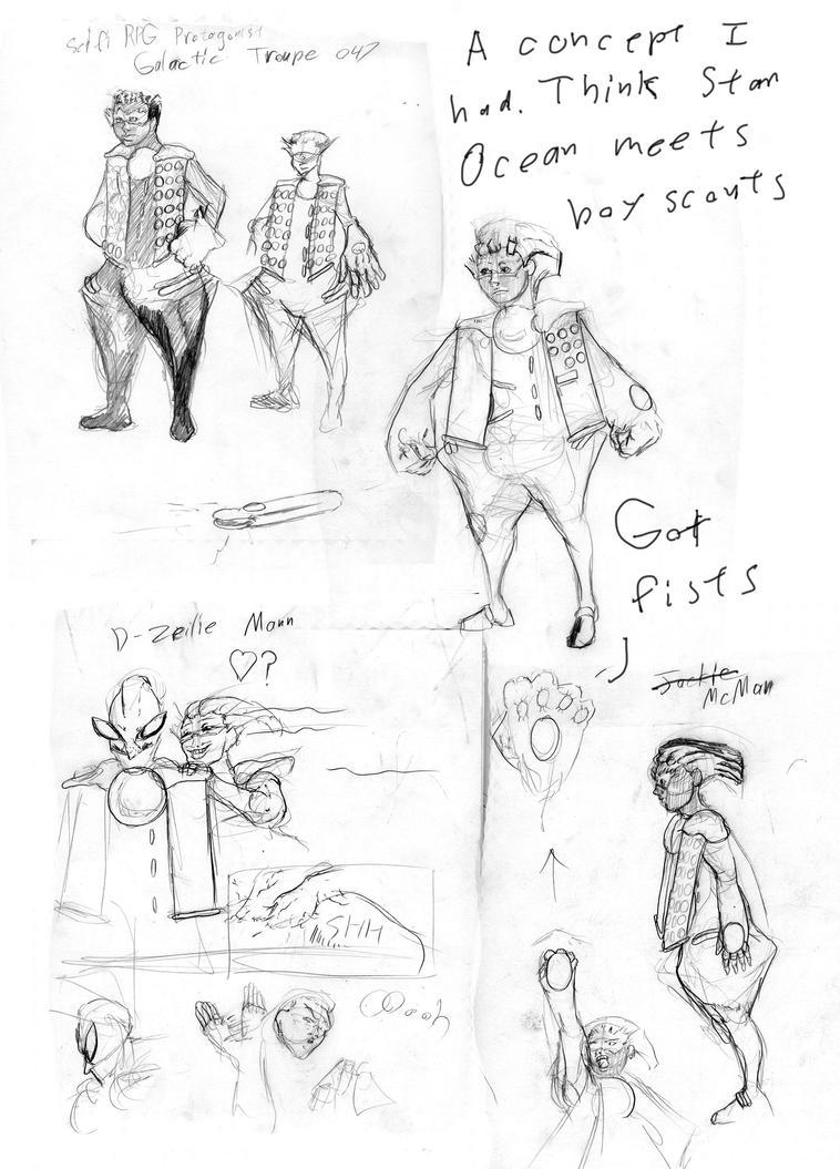 D-Zeelie sketch Bunch by Areku23