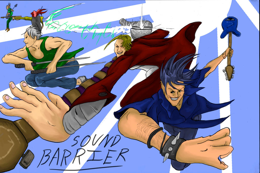 Sound Barrier-Mah Boys by Mister-23