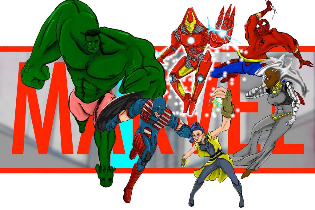 Me Do Marvel by Mister-23
