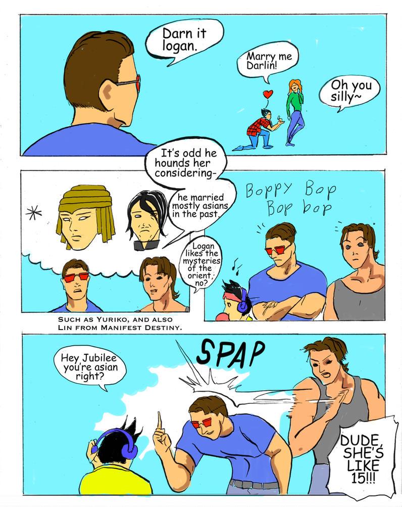 Xmen-Scott's Anti-Wolverine Plan by Mister-23