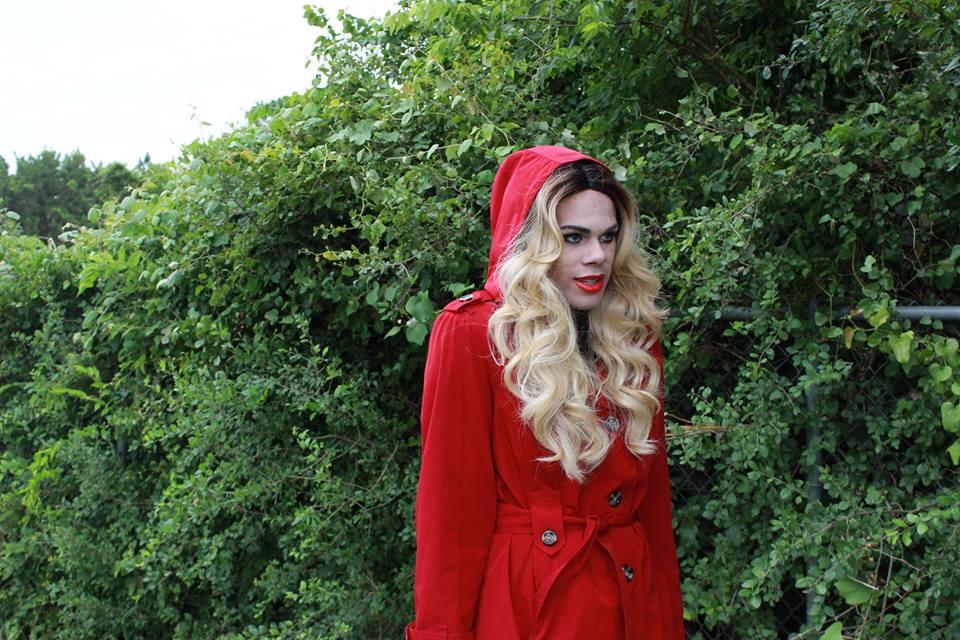 Red Coat Alison | Down Coat