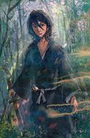 Rukia Kuchiki by tanhuitian