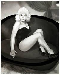 pinup girl by tanhuitian