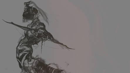 Alchemic warrior by tanhuitian