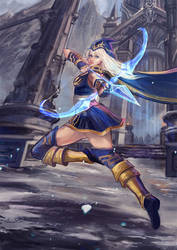 Ashe league of legends (LoL) by tanhuitian