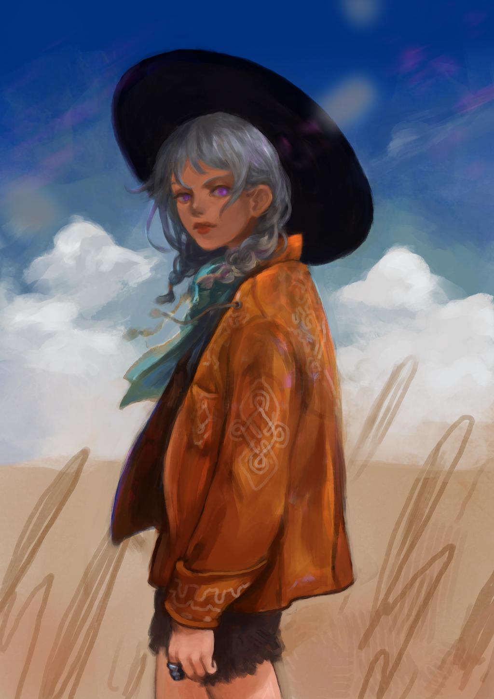 Farm Girl by tanhuitian