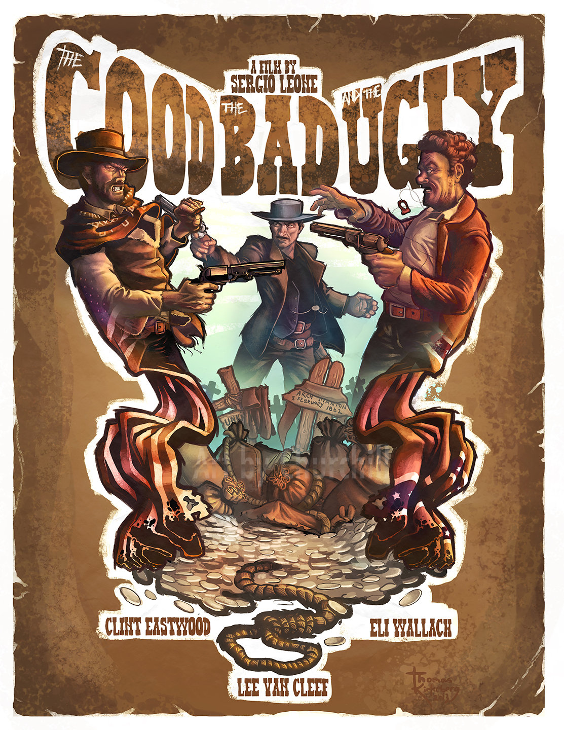 The Good The Bad and The Ugly by EuchridEucrow on DeviantArt