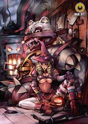 Halloween by reiq