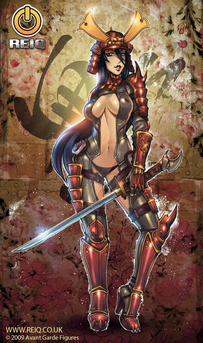 Samurai Soul Saiko Redesigned by reiq