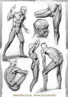 Life Drawing at CDA 3 pt2 by reiq