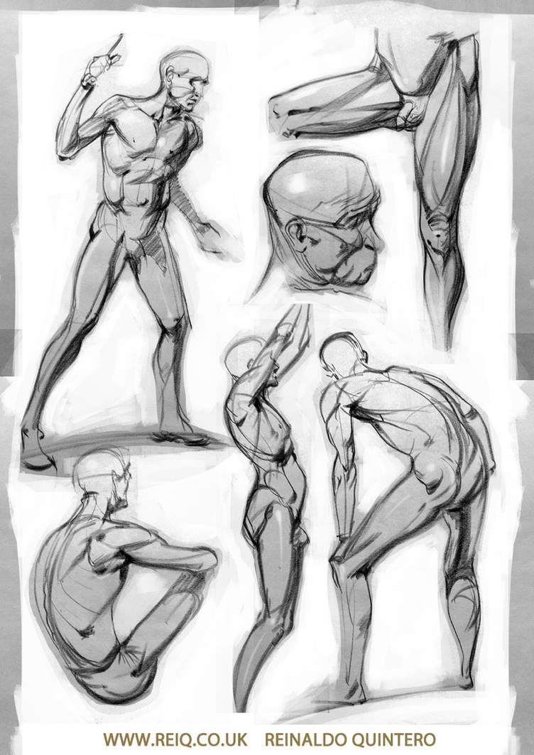 Life Drawing at CDA 3 pt2 by reiq