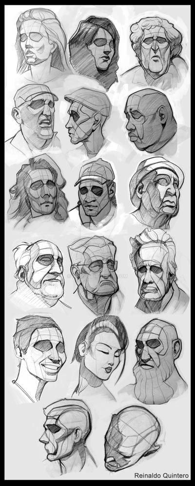 Head Drawing type analisys by reiq