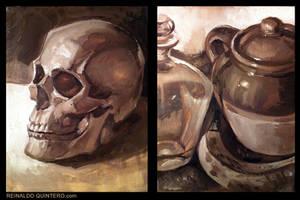 Oil Painting HW by reiq