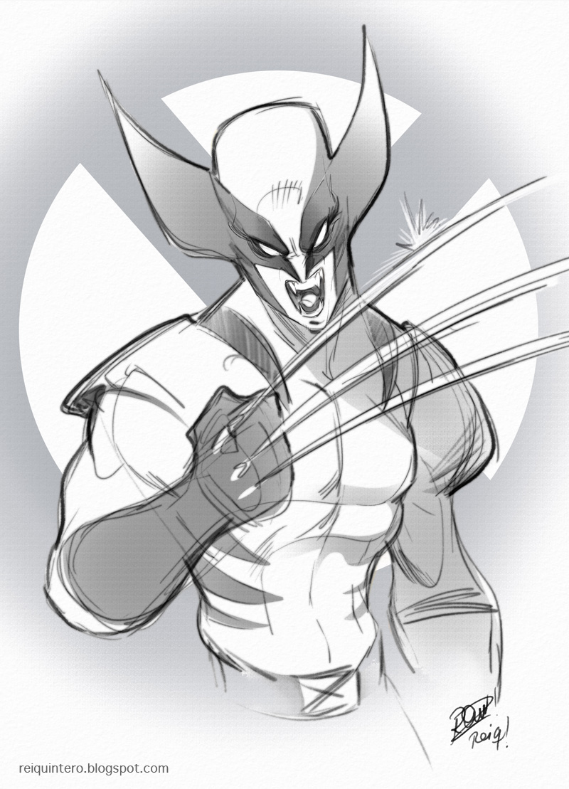 wolvie sketch by reiq