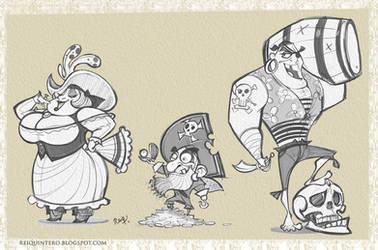 Pirates by reiq