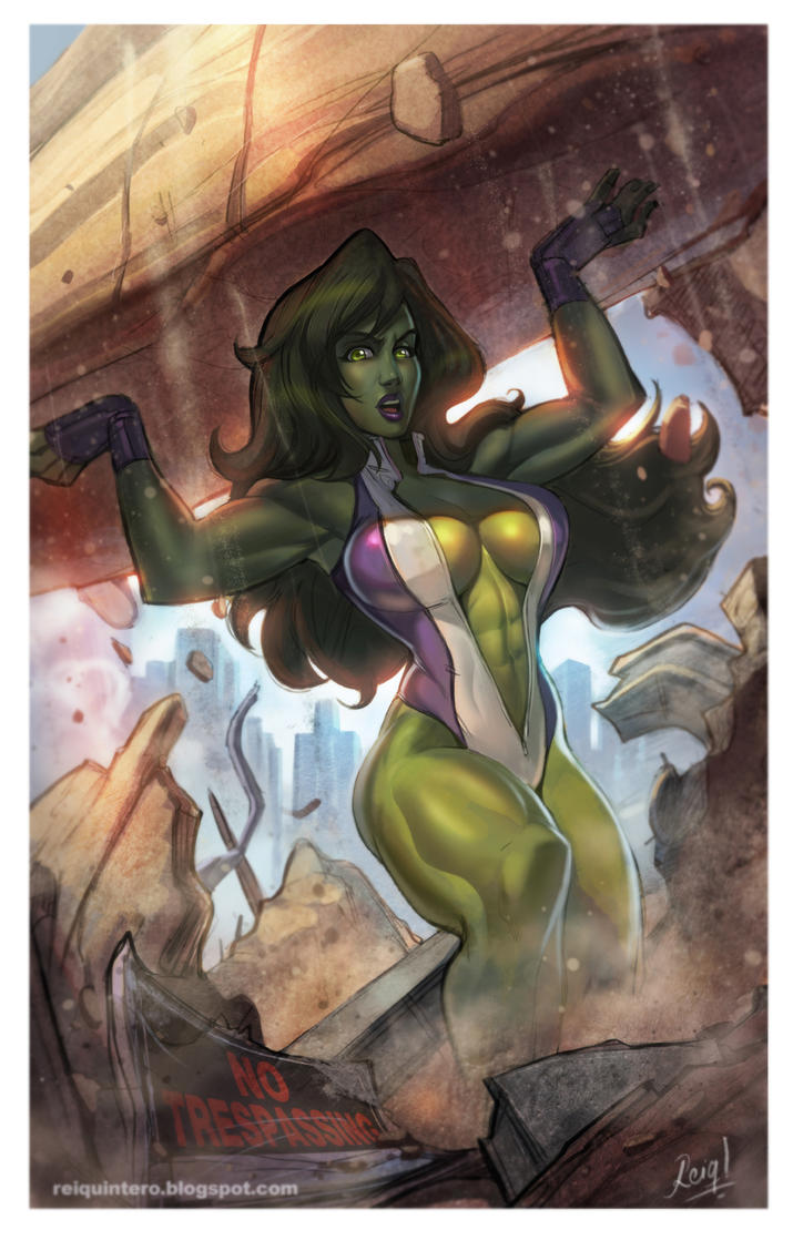 SHE-HULK by reiq