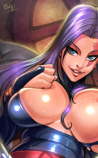 Psylocke JG by reiq