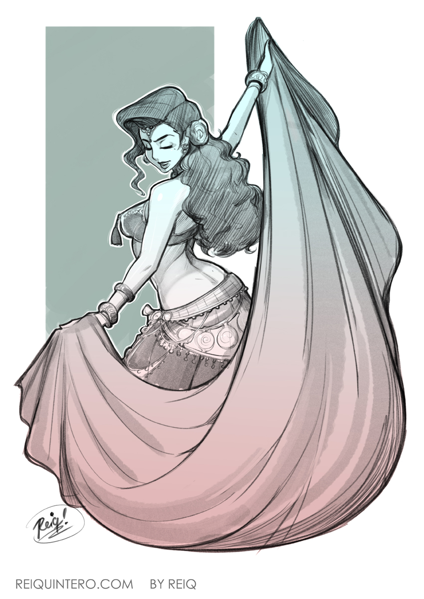 Belly Dancer by reiq