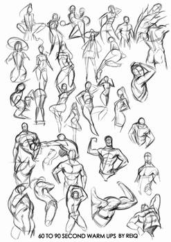 Warm ups drawings, that will change you life.