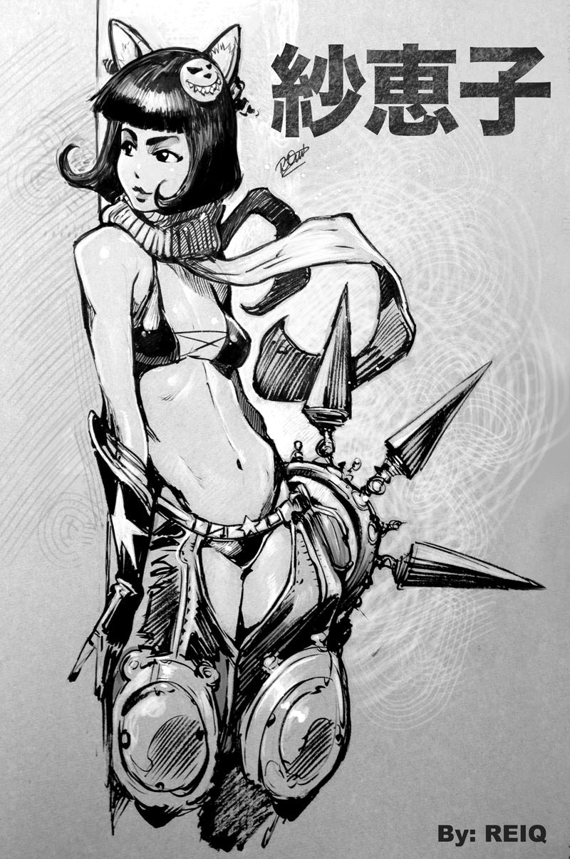 Saeko by reiq
