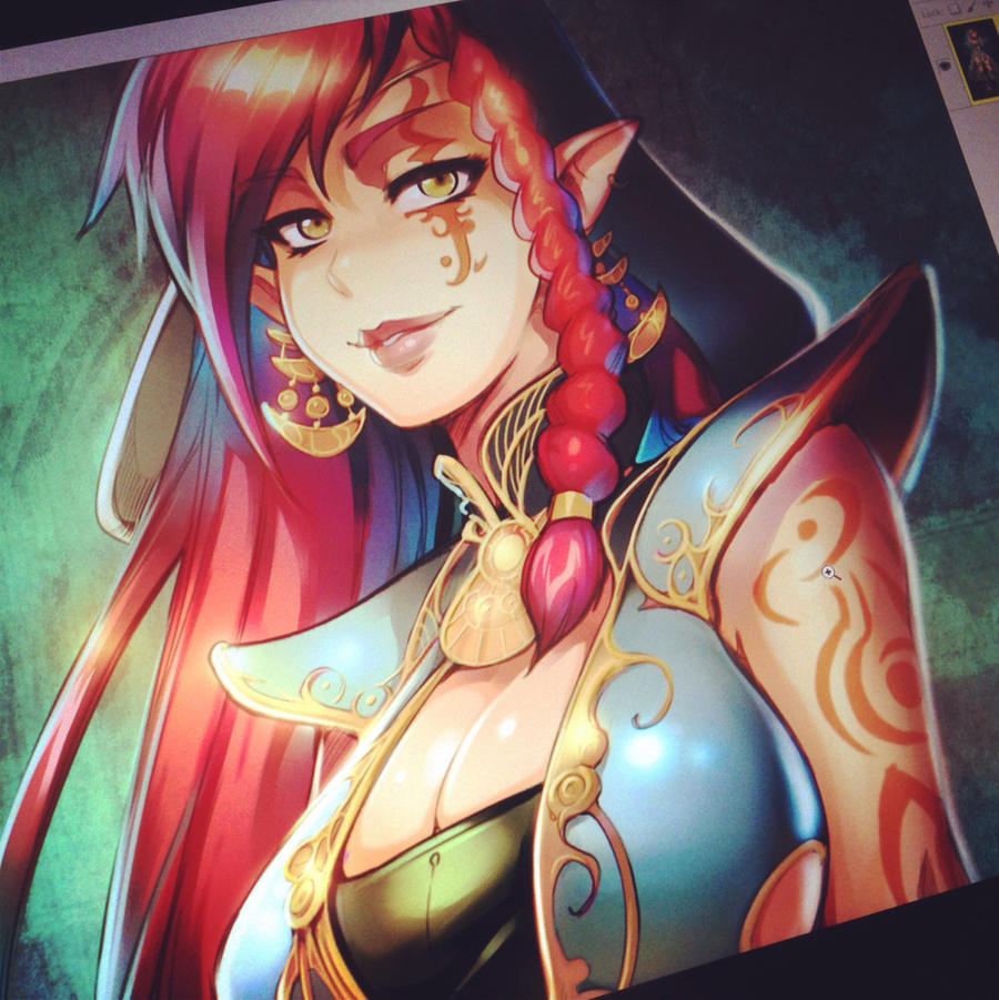 Artwork Incoming! by reiq