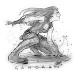 Gamora Guardians of the Galaxy.