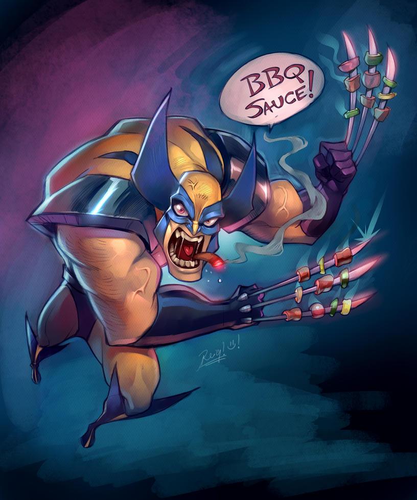 Wolverin BBQ! by reiq