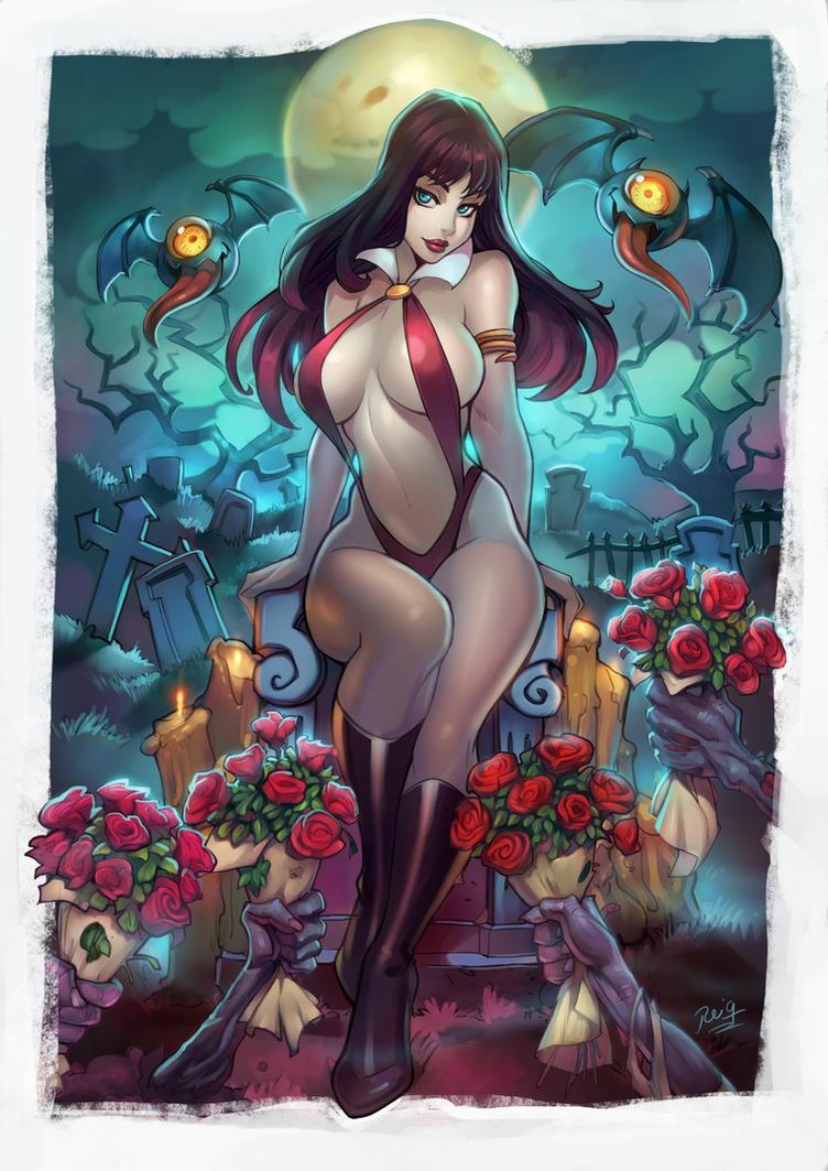 Vampirella by reiq