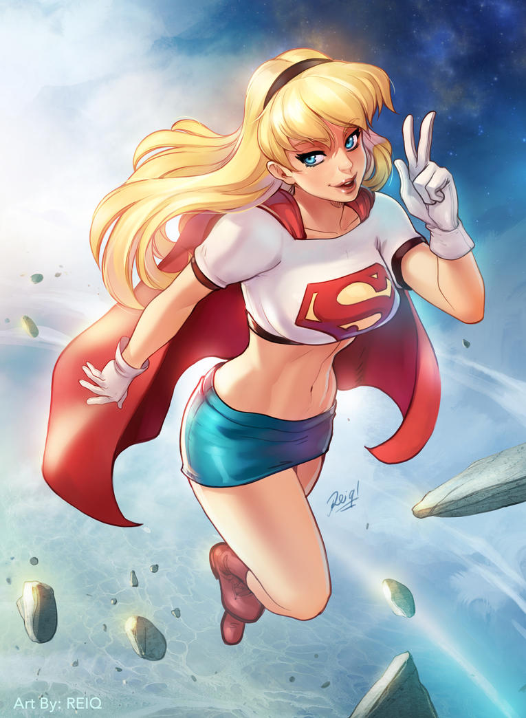 Supergirl Patreon Print special by reiq