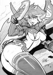 Kill la Kill Matoi Ryuko! Long beach Con Commision by reiq