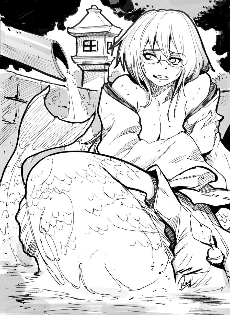 Mermaid priest smash up