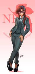 Mari Makinami Illustrious by reiq