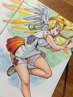Tennis Player Mercy by reiq